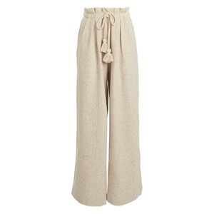 Ulla Johnson Ayana Speckled Fleece Wide Leg Pants